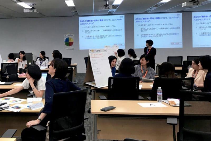 日本IBMは女性管理職育成プログラム「W50」を実施している