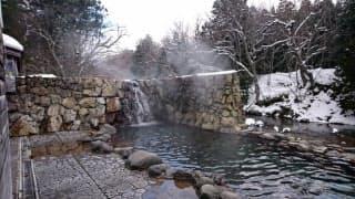 下北半島を代表する観光地、薬研温泉の露天風呂も閉鎖する