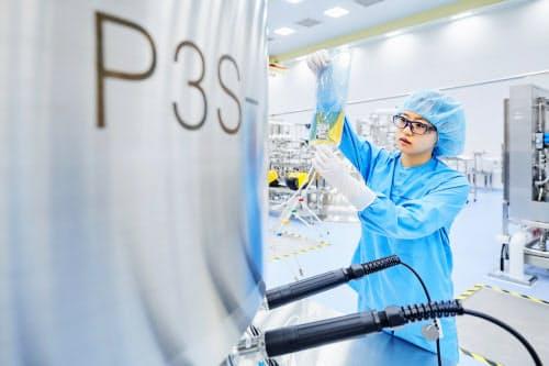 サムスンバイオロジクスはバイオ医薬品の生産能力で世界一の規模を誇る(韓国仁川市の工場)