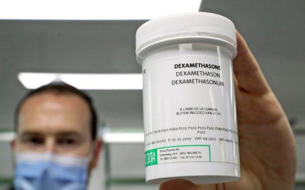 抗炎症薬のデキサメタゾン=ロイター