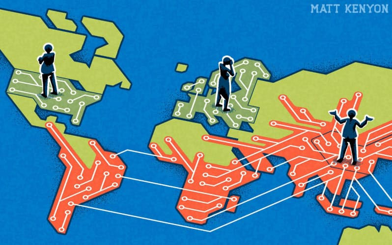イラスト Matt Kenyon/Financial Times