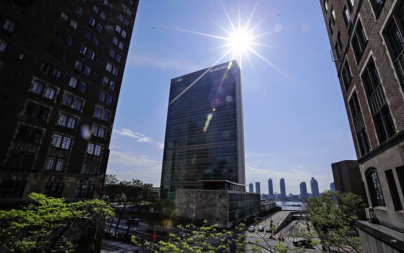 国連は債務返済の猶予措置は格下げの根拠にはならないとして、ムーディーズの姿勢に異を唱える=AP