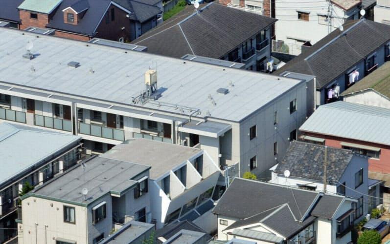 相続税対策にアパートなど賃貸物件を取得する富裕層は少なくない