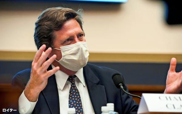 SECのジェイ・クレイトン委員長=ロイター