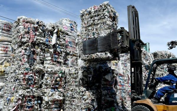 コロナ禍で廃プラの輸出も減っている