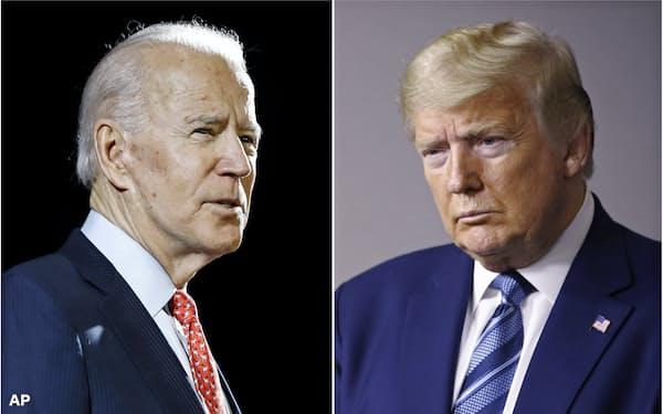 4年に1度の大統領選は11月3日に迫る=AP