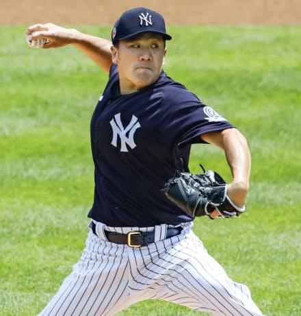 田中も遠からず先発ローテーションに戻ってこられそうだ=ヤンキース提供・共同