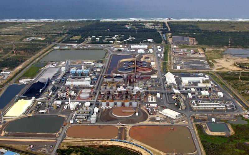 アンバトビー鉱山は新型コロナの感染拡大を受け操業を停止している