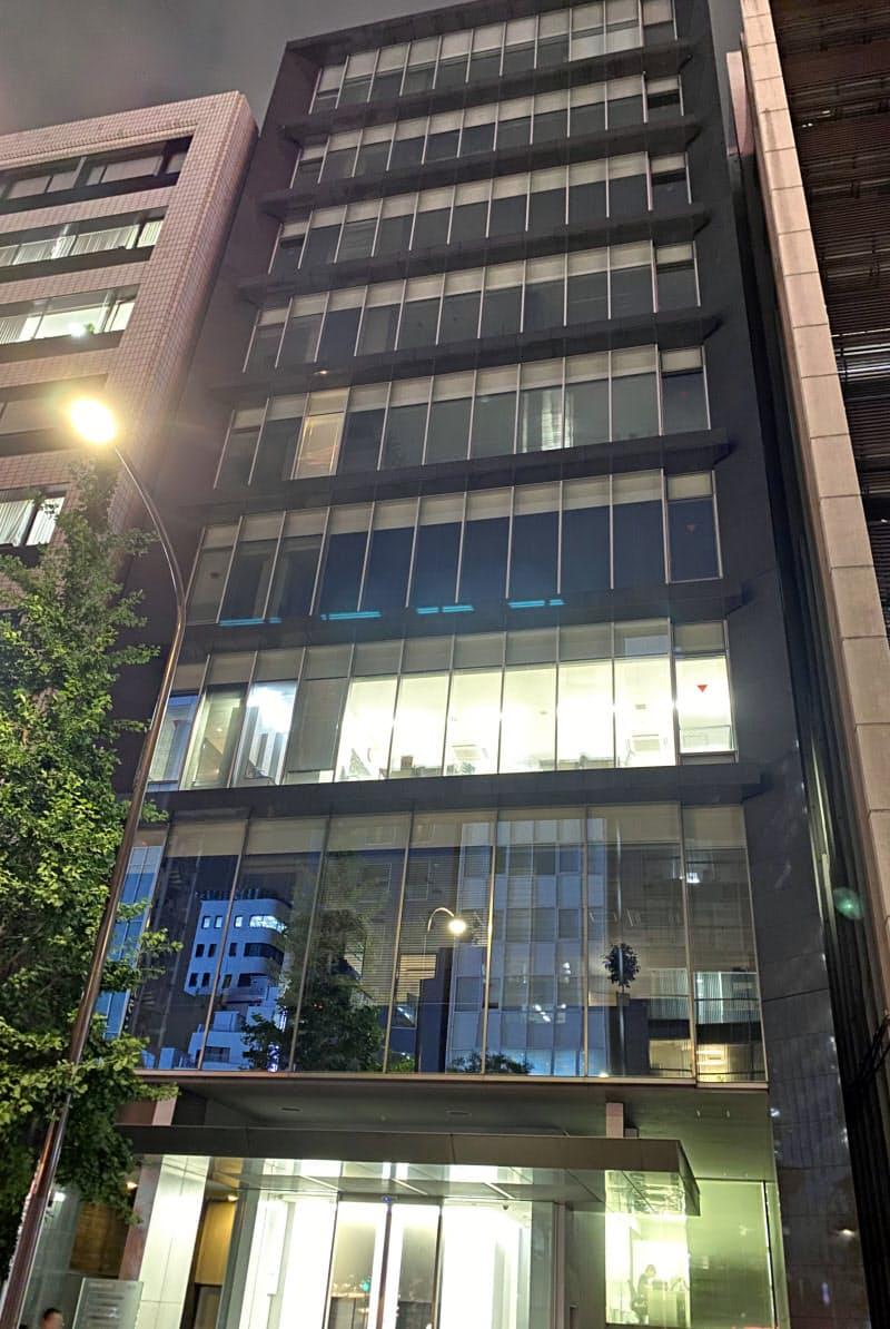 破産手続きに入ったミネルヴァは、依頼者へ返還されるはずの資金を不正に流用した疑いも明らかになった(事務所が入る東京・新橋のビル)