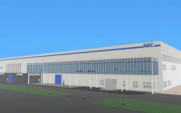 子会社のAGCエレクトロニクスの建屋拡張などに数百億円を投じる