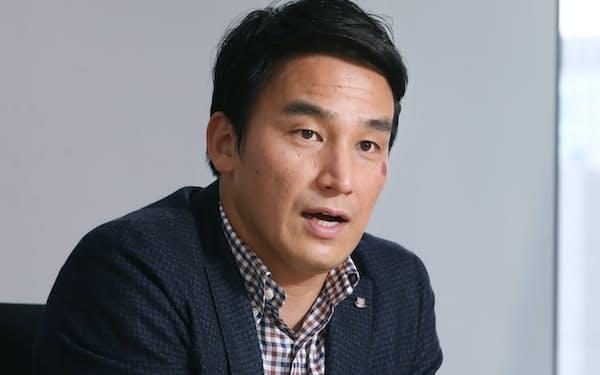 「アスリートもビジネスでも、努力の量が結果に表れるのは確かです」と話すアクアテラ社長の松田丈志さん