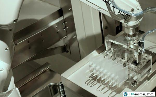 iPS細胞を自動で作製する装置(米アイ・ピース提供)