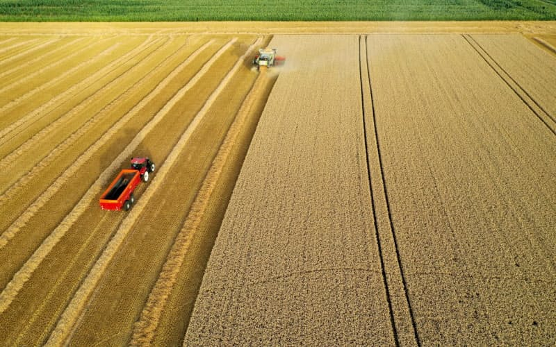 農業を効率化するテクノロジーへの注目が高まっている=ロイター