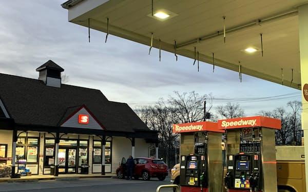 スピードウェイは米国でガソリンスタンド併設型の店舗を約4千店展開している(ニューヨーク州の店舗)