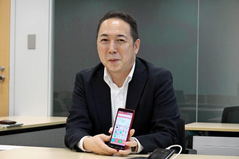Y!mobile事業推進本部の寺尾洋幸本部長