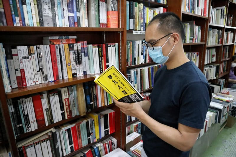 書店主の李さんは「出版の自由の状況は悪くなるばかりだ」と話す