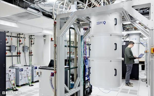 米IBMとも連携して早期の応用をめざす(日本IBM提供)