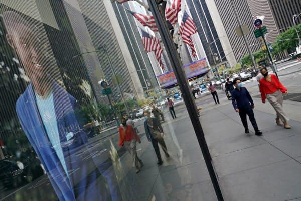 米国は戦後最悪の景気悪化となる(23日、ニューヨーク)=ロイター