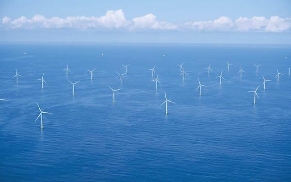 三菱商事とエネコが運営するオランダのルフタダウネン洋上風力発電所