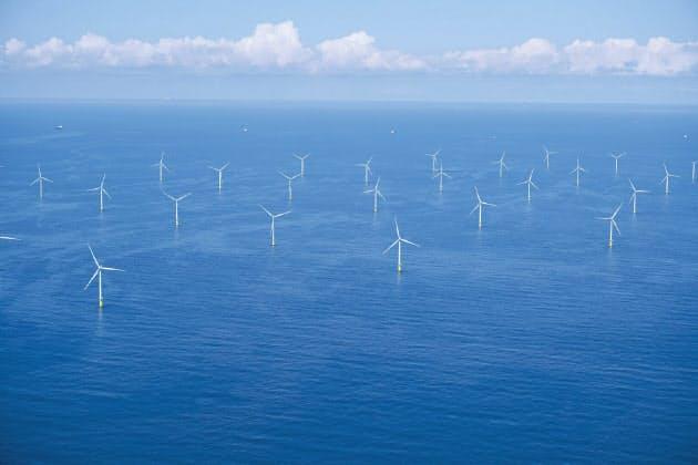三菱商事とシェル、オランダで大型洋上風力 1000億円規模
