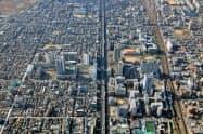 市内最大級の再開発エリアであるJR新長田駅南地区=神戸市提供