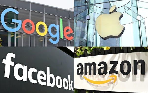 米巨大IT企業の市場独占懸念が高まっている