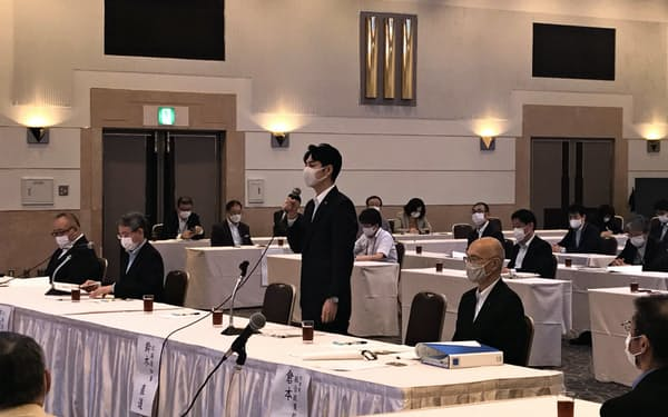 新型コロナウイルス対策を検証する有識者会議(30日、札幌市)