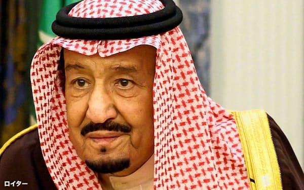 サウジアラビアのサルマン国王(2019年1月、リヤド)=ロイター