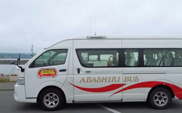 バスの運行は網走バスが担う