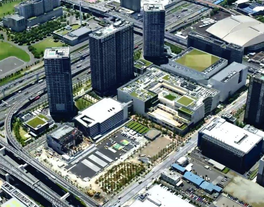 有明ガーデンが8月に全面開業: 日本経済新聞