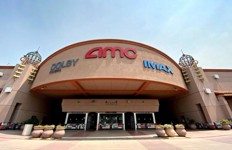 サンフランシスコ郊外の映画館「AMC」は3月中旬からずっと閉じたままだ(7月)