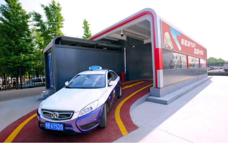オウルトンは中国でEV向けのバッテリー交換ステーションを展開する