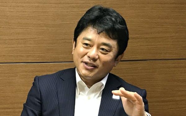 みずほ銀行の加藤勝彦常務執行役員