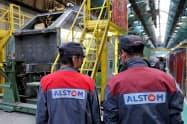 アルストムによるボンバルディアの鉄道関連事業買収に承認が下りた(アルストムの仏東部工場)=ロイター
