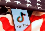 米政権の「TikTok(ティックトック)」への警戒心は強い=ロイター