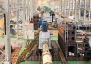 専用ポンプを作る荏原のベトナム工場
