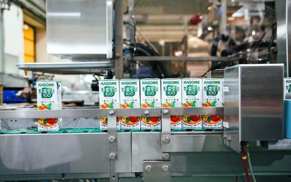 新工場では生産能力を2割増やす(長野県富士見町の富士見工場)