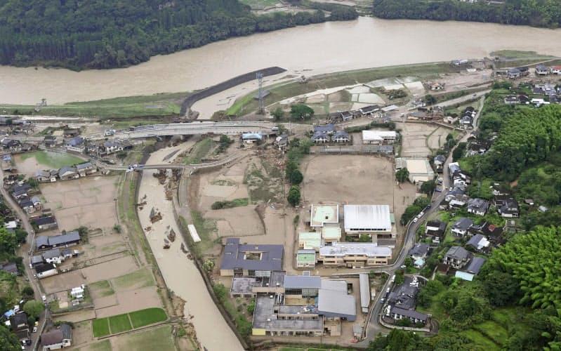 特養4割、洪水で3メートル以上浸水も 東京23区
