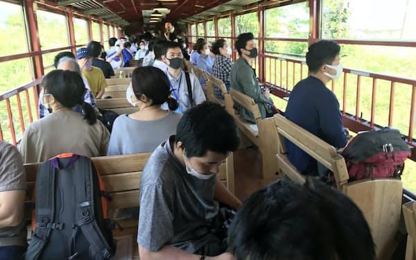 富良野~旭川を走る「ノロッコ号」への接続が可能