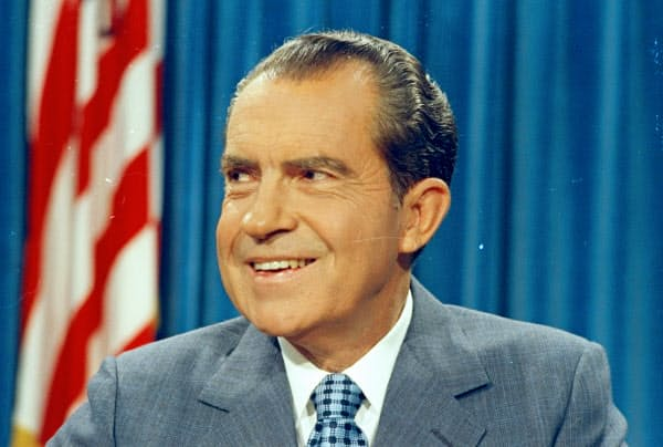 リチャード・ニクソン大統領=AP