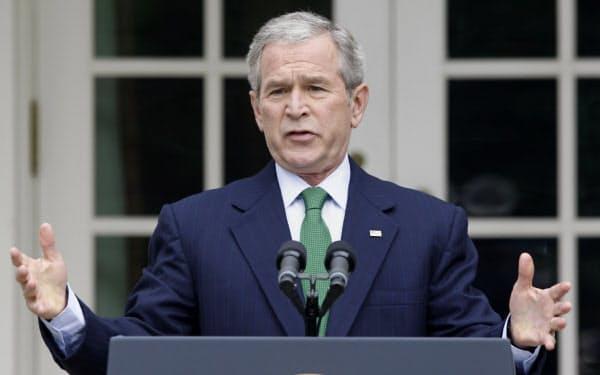 ジョージ・W・ブッシュ大統領=ロイター
