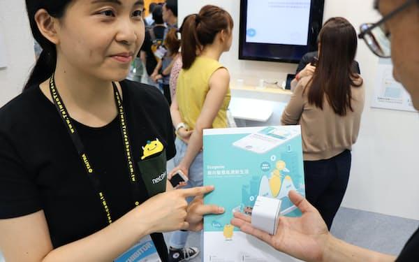 コンピューテックス台北ではIT機器の商談が活発に行われる(2019年5月、台湾・台北)