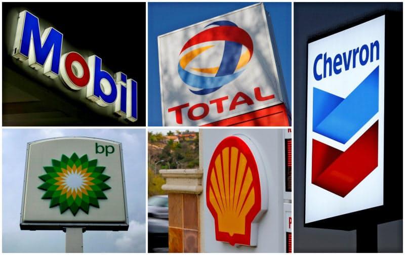 欧米石油メジャー5社は4~6月、資源安による採算悪化や減損で軒並み最終赤字に=ロイター