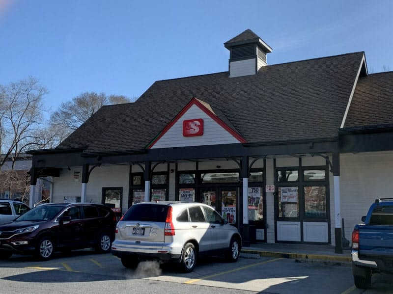 「スピードウェイ」の小売事業の営業利益は横ばいだった(ニューヨーク州ママロネックのガソリンスタンド併設のコンビニ)