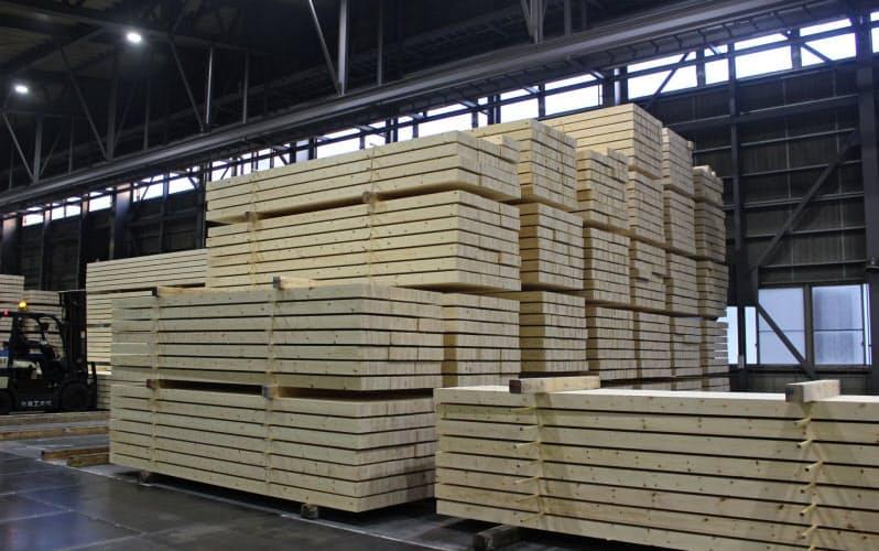 集成材メーカーは競合材の値下げに対抗した