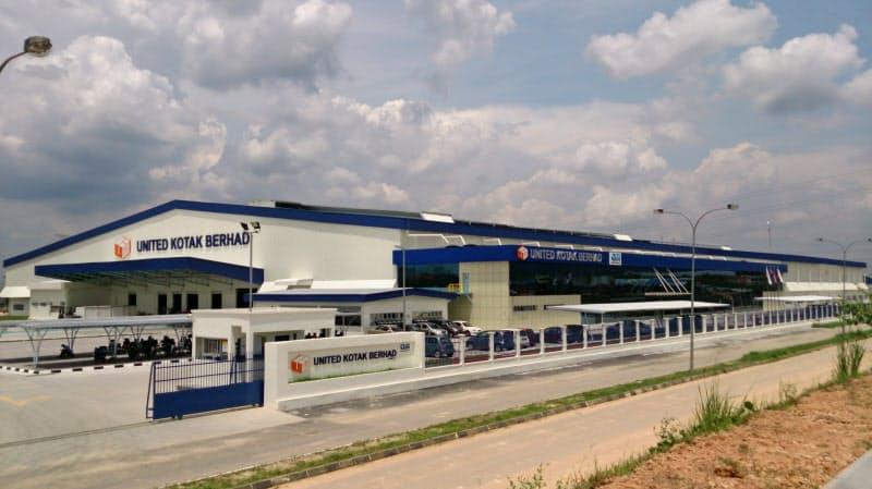 王子HDは東南アジアでの段ボール工場建設を加速している(マレーシアの段ボール工場)