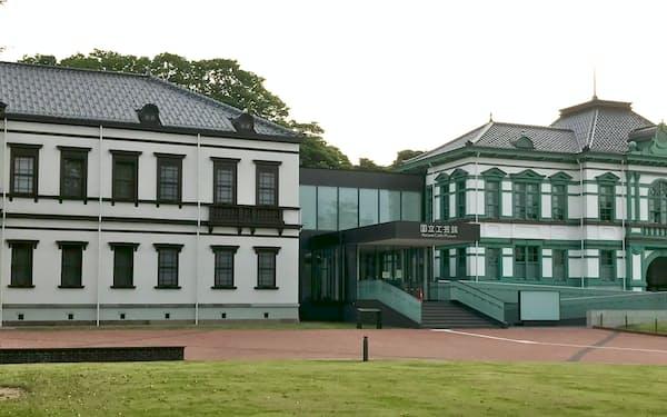 10月25日の開館が決まった国立工芸館(金沢市)