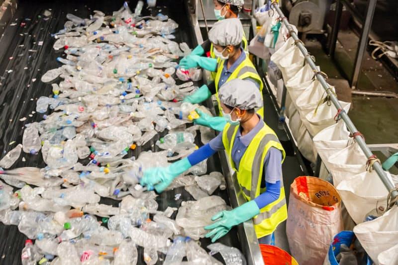 タイ石化大手インドラマのペットボトルリサイクル拠点