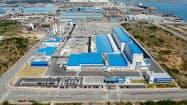 ポスコケミカルはEV需要の拡大を見越し、電池部材の増産投資を決めた(光陽市の同社工場)