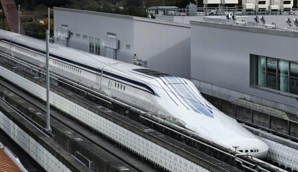 リニア中央新幹線は静岡県内の工事が遅れている